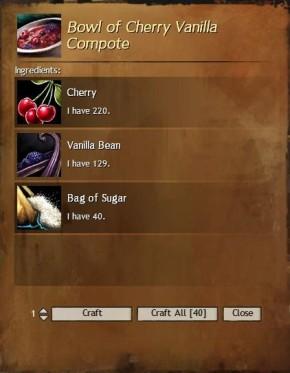 Cherry Vanilla Compote