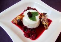 Yoghurt Panna Cotta & Cherry Compote 3