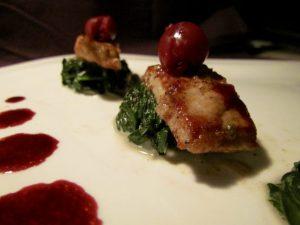 Veal-Vanilla-Spinach-Cherry-Sauce-3