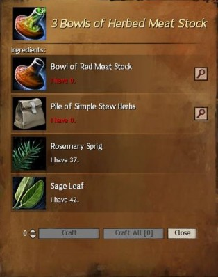 Herbed Meat Stock