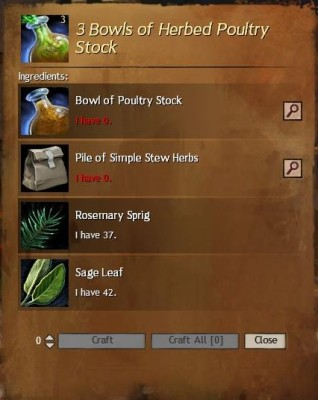 Herbed Poultry Stock