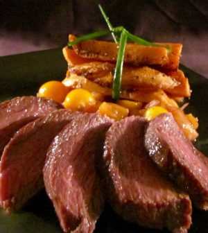 Ostrich-Gooseberry-Chutney-and-Sweet-Potato-Fries-5