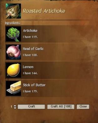 Roasted Artichoke