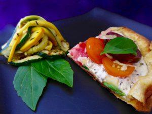 Zucchini-Salad-and-Pizza-Bianco-4