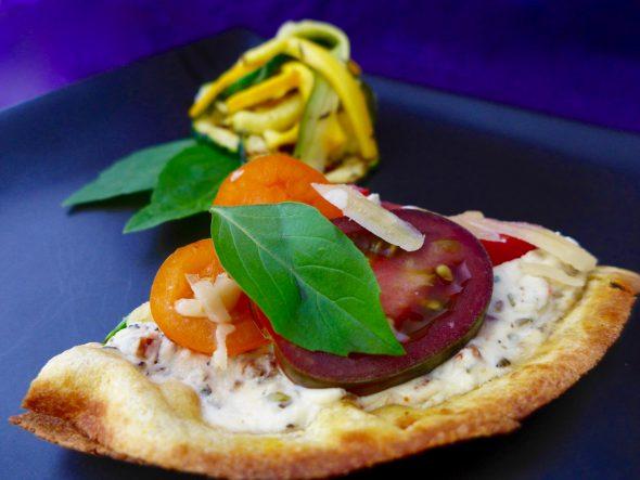 Zucchini-Salad-and-Pizza-Bianco-5