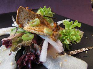 Japanese Style Salad & Crispy Tofu 1