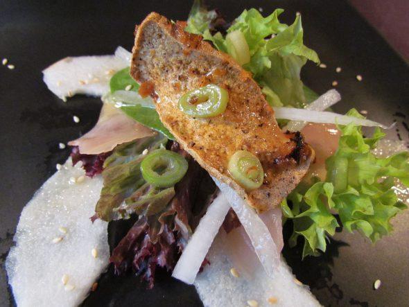 Japanese Style Salad & Crispy Tofu 2