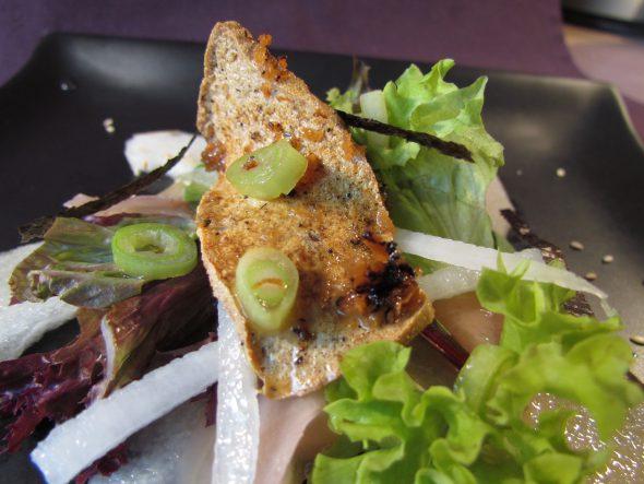 Japanese Style Salad & Crispy Tofu 4