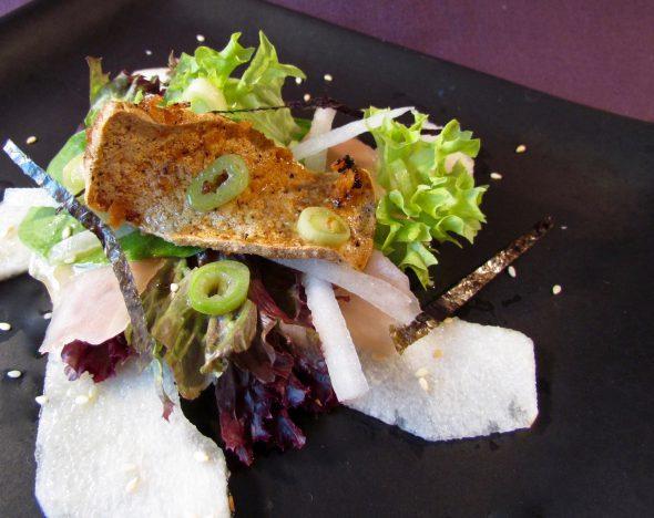 Japanese Style Salad & Crispy Tofu 5