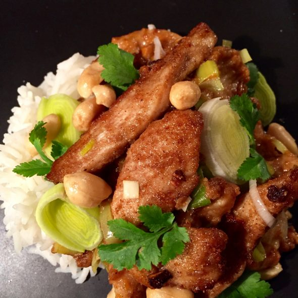 Peanut-Chicken-and-Leeks-3