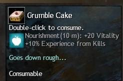 grumble-cake