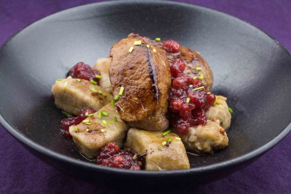 venison-filet-chestnut-gnocchi-cowberry-sauce-1