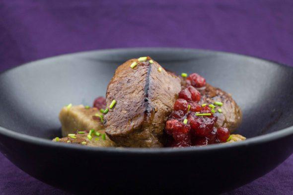 venison-filet-chestnut-gnocchi-cowberry-sauce-2