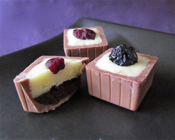 Blueberry-Yoghurt Chocolates 3