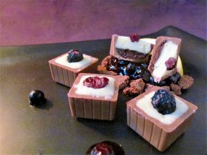 Blueberry-Yoghurt Chocolates 5
