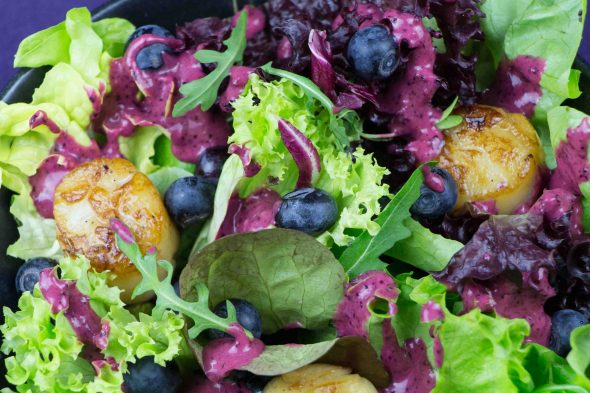 Blueberry-Scallop-Salad-3