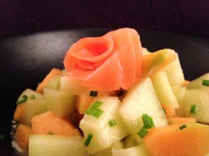 Melon-Salmon-Wasabi-Salad-3