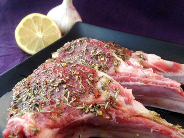 Rosemary-Lamb-Chops-Nectarines-Chanterelles-4