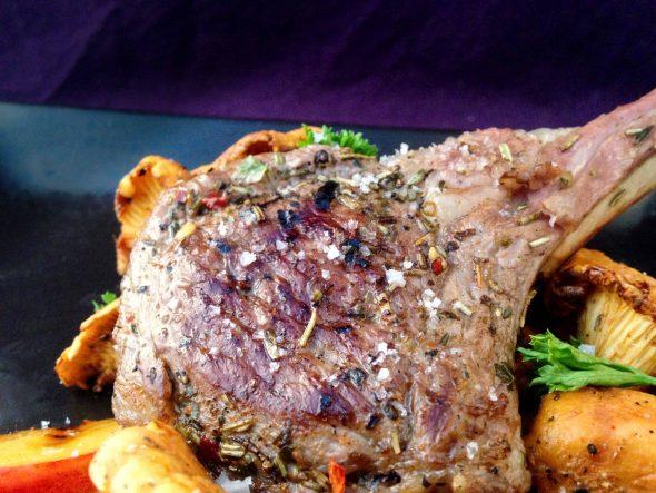 Rosemary-Lamb-Chops-Nectarines-Chanterelles-6