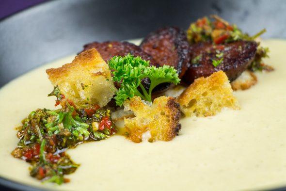 Jerusalem-Artichoke-Soup-Chorizo-Chimichurri-3