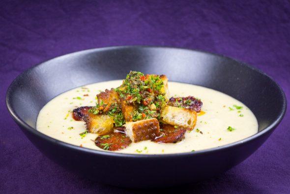 Jerusalem-Artichoke-Soup-Chorizo-Chimichurri-4