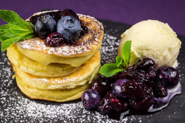 Buttermilk-Apple-Pancakes-Blueberry-Compote-3