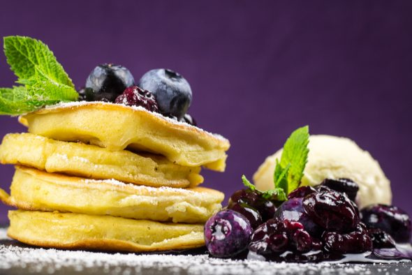Buttermilk-Apple-Pancakes-Blueberry-Compote-4