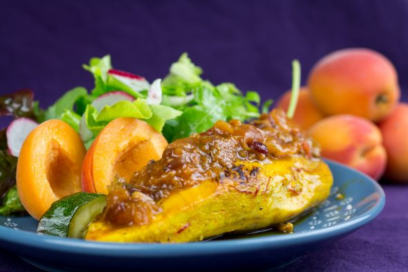 Lemon-Saffron-Chicken-Apricot-Rosemarry-Barberry-Chutney-5