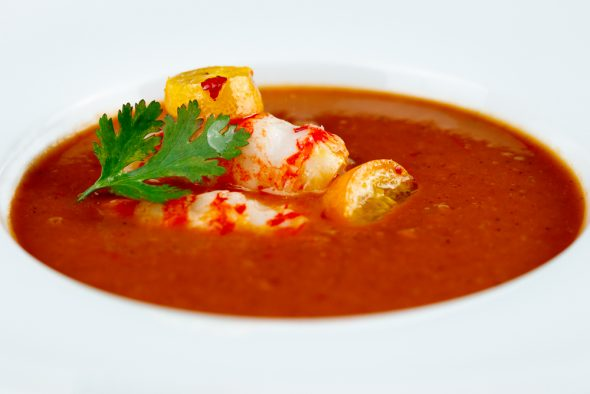 Tomato-Coconut-Soup-Kumquats-Prawns-4