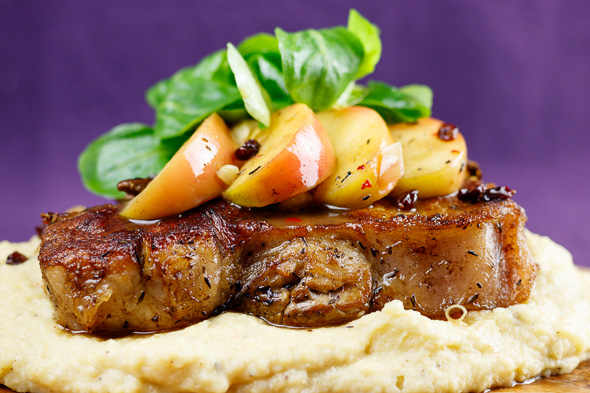 Veal-T-Bone-Steak-Cider-Apples-Parsnip-Puree-4