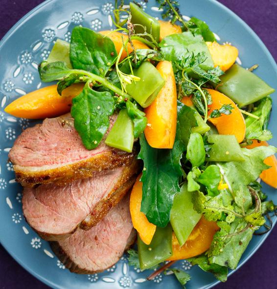 Harissa-Duck-Apricot-Bean-Salad-2