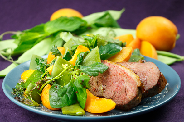 Harissa-Duck-Apricot-Bean-Salad-3