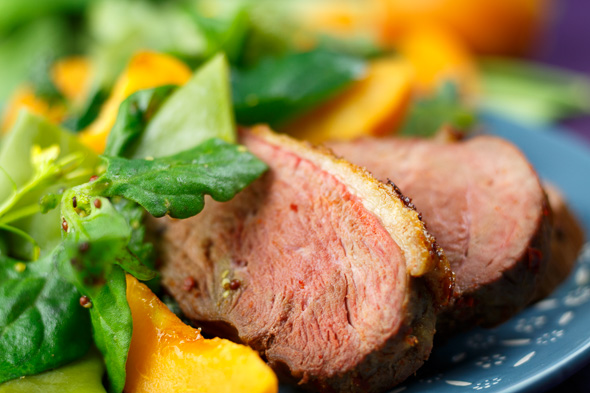 Harissa-Duck-Apricot-Bean-Salad-4