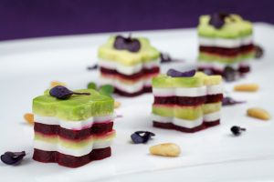Avocado-Beetroot-Buffalo-Mozzarella-Mille-Feuille-2