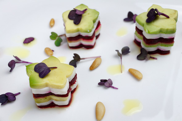 Avocado-Beetroot-Buffalo-Mozzarella-Mille-Feuille-3