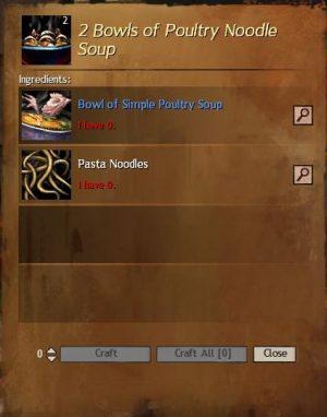 Poultry Noodle Soup