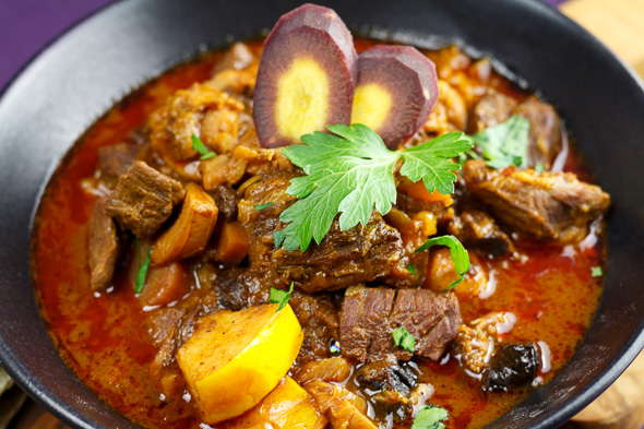 Persian-Beef-Quince-Stew-Khoreshe-Beh-2