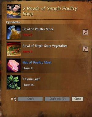 simple Poultry Soup