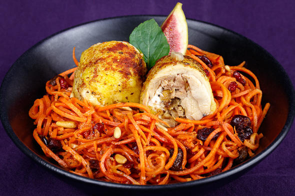Lemon-Chicken-Ballotines-Spicey-Carrot-Noodles-2