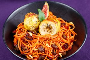 Lemon-Chicken-Ballotines-Spicey-Carrot-Noodles-4