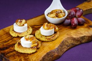 Chickpea-Flatbreads-Fig-Cashew-Chutney-Goats-Cheese-Bites-3