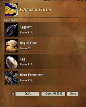 Eggplant Fritter