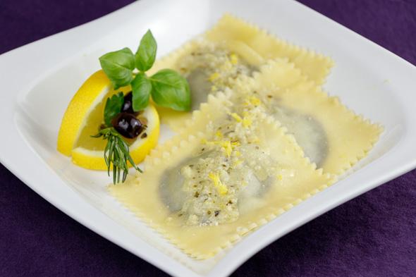 Olive-Prune-Ravioli-Lemony-Pecorino-Sauce-3