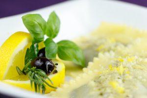 Olive-Prune-Ravioli-Lemony-Pecorino-Sauce-4