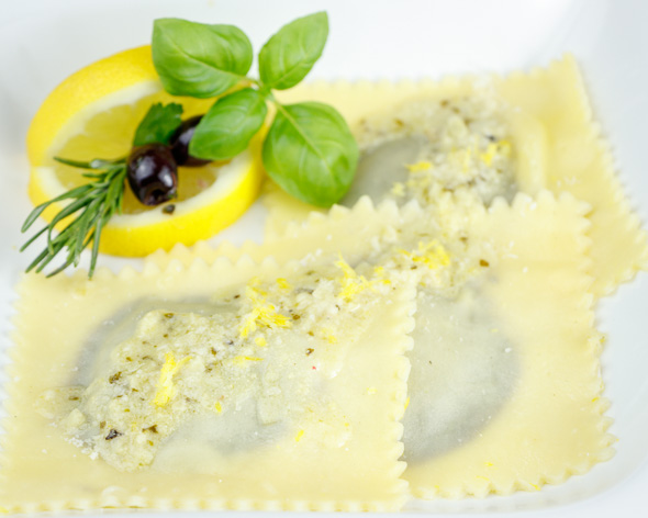 Olive-Prune-Ravioli-Lemony-Pecorino-Sauce-5