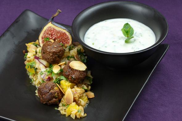 Jerusalem-Artichoke-Taboulé-Spicy-Lamb-Meatballs-1
