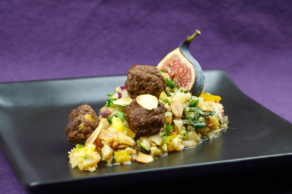 Jerusalem-Artichoke-Taboulé-Spicy-Lamb-Meatballs-2