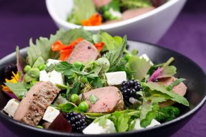 Spring-Lamb-Pea-Blackberry-Salad-1