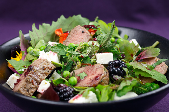Spring-Lamb-Pea-Blackberry-Salad-3