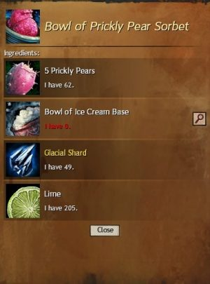 Prickly Pear Sorbet